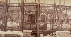 Construction Holborn Viaduct 1868